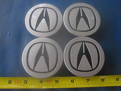 Acura TL EL RSX CL TSX MDX RDX wheel center caps hubcaps emblem badge SET OF 4