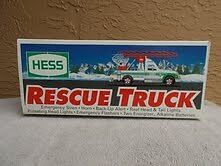 1994 Hess Toy Rescue Truck In New Original Box Vintage Collectible