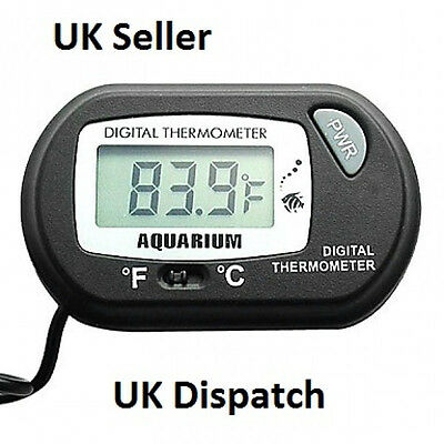 LCD Digital Aquarium Tank Thermometer Temperature Display UK Seller,Same Day