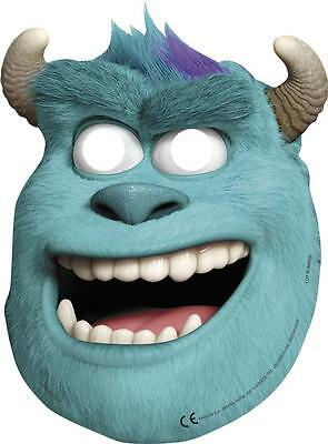 CLEARANCE Monsters Inc Monsters University Party Sully Face Masks x 6