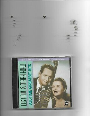 "Les Paul & Mary Ford, Cd ""All-Time Greatest Hits"" New Sealed"