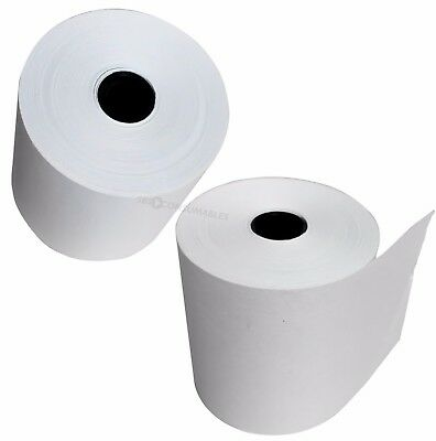 Pack of 40 - 57x57mm Single Ply Till Rolls. Receipt Paper for Adding Machines.