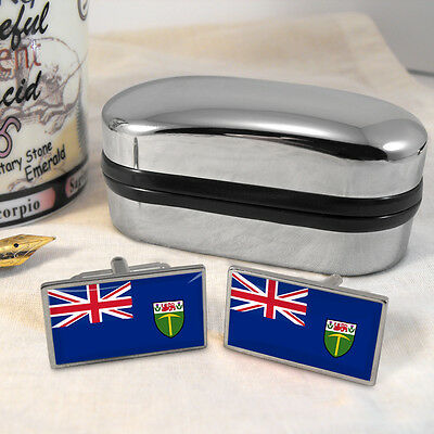 Southern Rhodesia Flag Cufflinks & Box