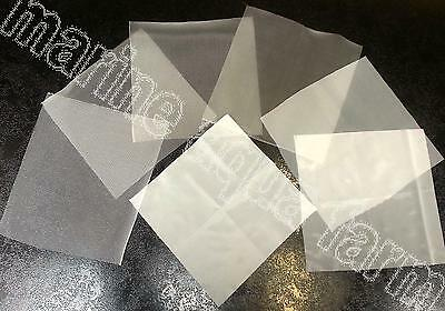 400 MICRON MESH 200mm x 200mm, ZOOPLANKTON SIEVE, CORAL, COPEPOD BRINE SHRIMP