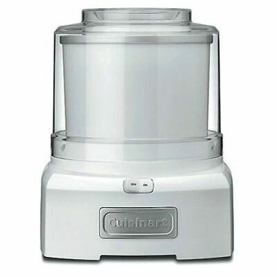 Cuisinart Ice Cream , Frozen Yoghurt And Sorbet Maker 1.5L White *free Shipping*