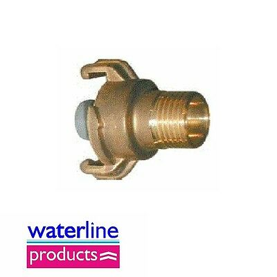 Original Geka Hose Fittings Quick Couping Water Stop BSP Male: 3/4""