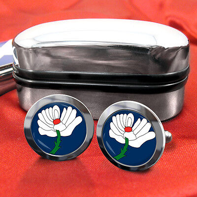 Yorkshire County Cufflinks & Box
