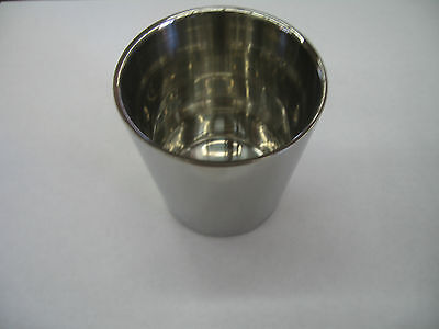 Stainless Steel Water Cup Vacuum Double Layer 150ml for Restaurant Camping