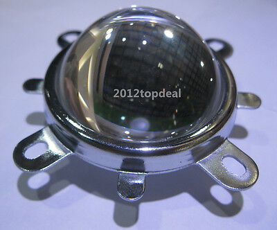44mm Lens + Reflector Collimator + Fixed bracket For 10W led lamp project & DIY