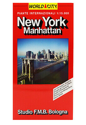 New York - Manhattan Pianta Città (Cartina/carta/mappa) F.m.b  9788877754721