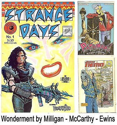 Strange Days #1 (Eclipse 1984 vf/nm) new and unread - McCarthy, Ewins, Milligan