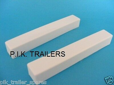 2 x Replacement End Caps for Trailer Light 3ft 4ft 5ft 6ft 7ft Boards
