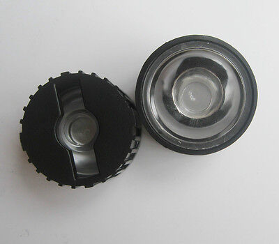 20x Led Lens 15 Degree For 1w 3w 5w Lamp with Black Holder