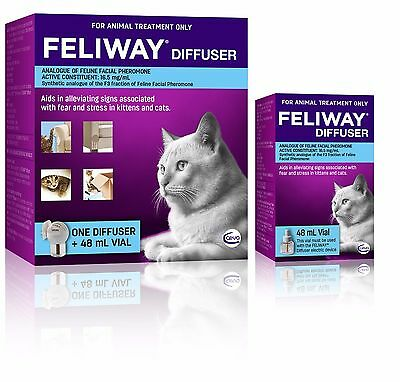 Feliway Diffuser Set & Additional Refill - Constant Calming and Comfort for Cats