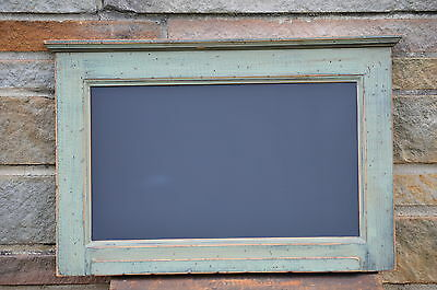 Primitive Chalkboard Elk Sage Green > Black Country Kitchen Style Hz