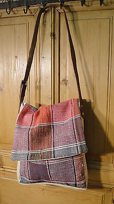 Antique European Grain Sack,Tote Bag, Book Bag,Ipad Bag,Purse.#4519