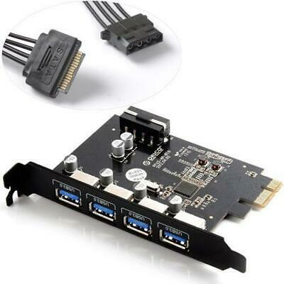ORICO PME-4U 4 Port PCI Express to USB3.0 Host Controller Card for Mac/Windows