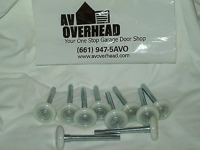 Garage Door Rollers 2 Inch Sealed 13 Ball Bearing  with a 4 Inch Stem 10 Pack