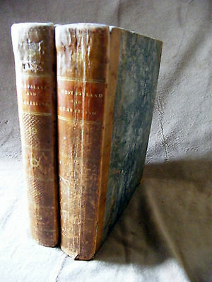 1777 1st ed HISTORY Antiquities  WESTMORLAND Cumberland  Nicolson BURN Map