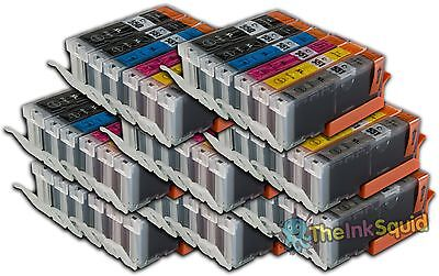 48 Canon Pixma PGI-550 CLI-551XL (inc Grey) Compatible Ink Cartridges for MG6350