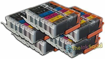 30 Canon Pixma PGI-550 CLI-551XL (inc Grey) Compatible Ink Cartridges for MG6350