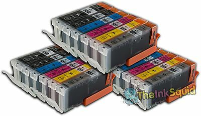 18 Canon Pixma PGI-550 CLI-551XL (inc Grey) Compatible Ink Cartridges for MG6350