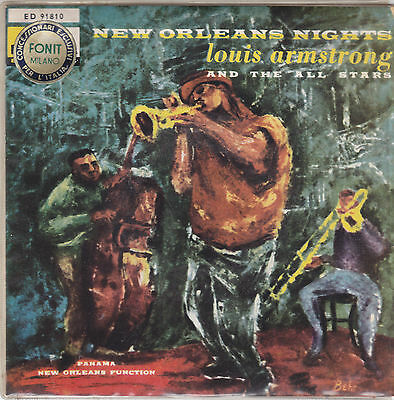 """LOUIS ARMSTRONG - panama / new orleans function 45"""""""