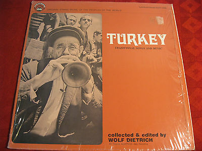 LP TURKEY Traditional Song and Music > LYRICHOR US 1977 RARITÄT