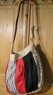 Antique European Grain Sack,Tote Bag, Book Bag,Ipad Bag,Purse.#4492