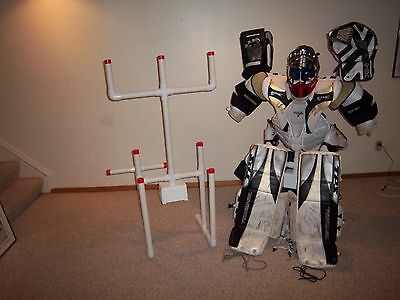SPORTS EQUIPMENT HOCKEY DRYING RACK TREE GOALIE with AIR & A FREE Timer