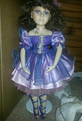 the Collector's Choice by Dandee 17 in Ballerina in purple and blue