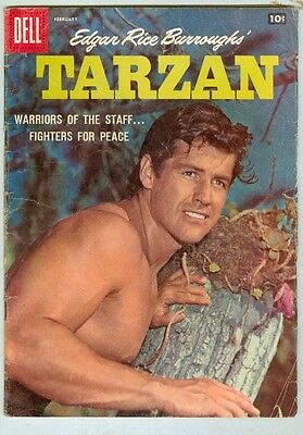 Tarzan #101 February 1958 VG- Photo Cover