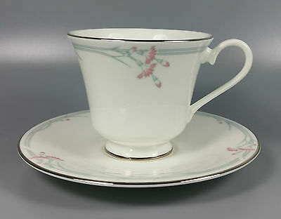 Royal Doulton Carnation H5084 Tea Cup And Saucer (Perfect)