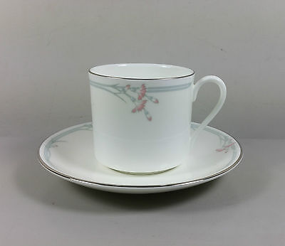 Royal Doulton Carnation H5084 Coffee Cup And Saucer (Perfect)