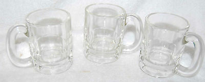 HAZEL ATLAS SMALL BEER MUGS