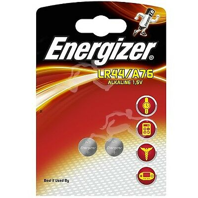 Piles Alcaline Lot de 6 LR44/A76 1,5V Energizer calculatrices, photo, montres...