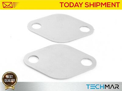 35.EGR Valve Blanking Block Kit Plate Renault 2.2,2.5 dCi Opel/Vauxhall 2,5 CDTI