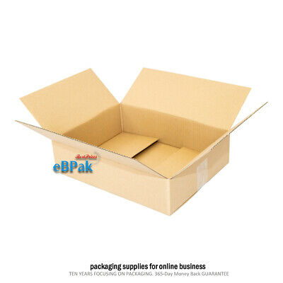 25 Shipping Carton Mailing Box BX4 Size Regular Slotted RSC *  430x305x140mm
