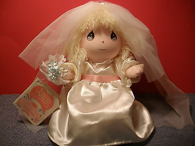 "1990 Precious Moments Doll Of The Month JUNE Plush w/Tags 11"" Applause"