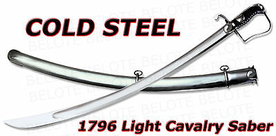 Cold Steel 1796 Cavalry Saber + Steel Scabbard 88SS NEW