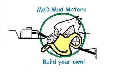MaD Mud Motor Plans Build Your Own Longtail Mud Motor, Save $$$ Small Boat Motor