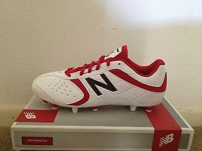 Womens Lacrosse Cleat New Balance WF5464 white/red BRAND NEW