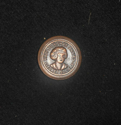 Vintage 1930S Radio Orphan Annie's Secret Society Pin**