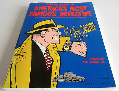 Rare 1St Ed 1987  Book- Dick Tracy: America's Most Famous Detective- Bill Crouch