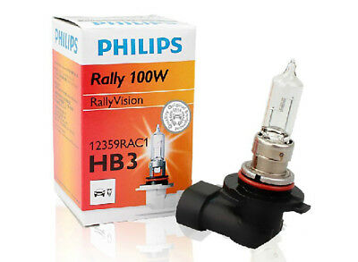 PHILIPS HB3 9005 12V 100W P20d 12359RA halogen automotive headlighting lamp