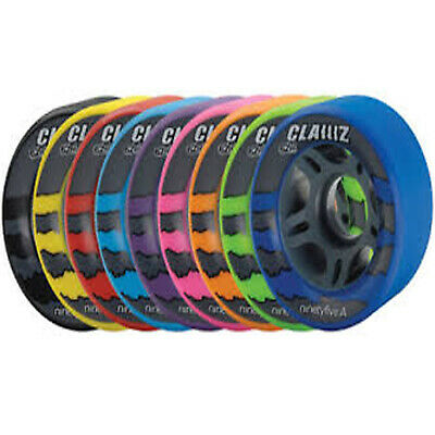 Quad Clawz Indoor Roller Skate Wheels 95A Full Set of 8