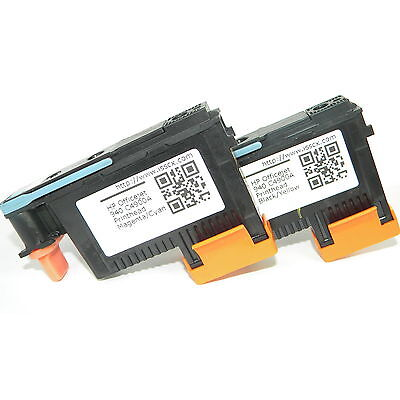 PRINT HEAD 2-Pack 940 PRINTHEAD C4900A & C4901A For HP Pro 8000 8500