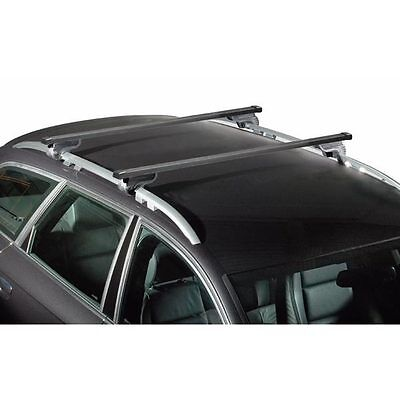 barres de toit aluminium citroen c3 picasso d s 2013 avec barres longitudinales eur 75 00. Black Bedroom Furniture Sets. Home Design Ideas
