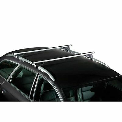 barres de toit aluminium zafira tourer d s 2012 avec barres longitudinales. Black Bedroom Furniture Sets. Home Design Ideas