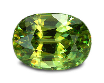 1.84 Carats Natural Sphene Loose Gemstone - Oval